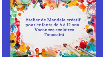 Atelier de Mandalas pour enfants - Marie-Josée Simon - Strasbourg
