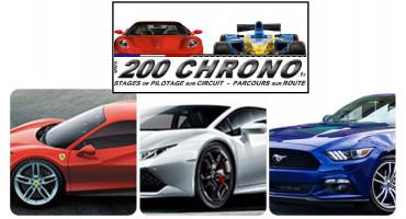 Stage Ferrari, Lamborghini et Mustang - 200 Chrono - Colmar