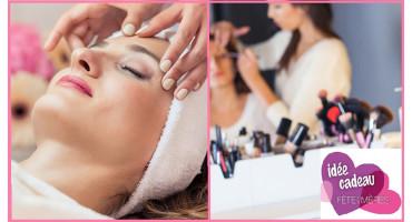 Rituel de soin du visage et maquillage beauté - Strasbourg - Institut Ivoire et Yaelle M