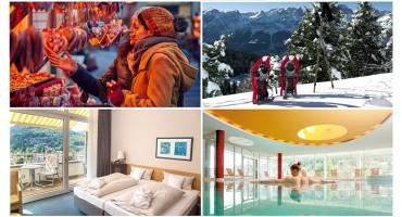 Forfait 1 nuit hôtel spa wellness 4* pour 2 avec petit-déjeuner, dîner 3 plats et accès libre piscine et spa