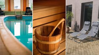 Plusieurs nuits en demi pension pour 2 avec petit-déjeuner, dîner 3 plats et accès libre piscine, sauna