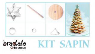 Kit à Sapin 3D pour Bredele géant - Bredele.fr- Alsace