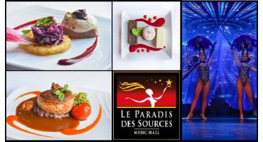Show und Essen für eine Person - Cabaret Le Paradis des Sources - Soutztmatt - Elsass