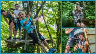 Evasion-Kombiticket für Kinder von 7 bis 11 Jahren - NATURA PARC - STRASSBURG